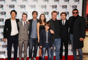 All the beautiful people at the LFF premiere... and me!