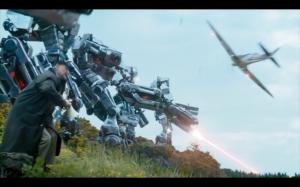 Robots  v Spitfire!
