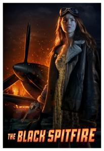 A girl, a gun and a Spitfire...