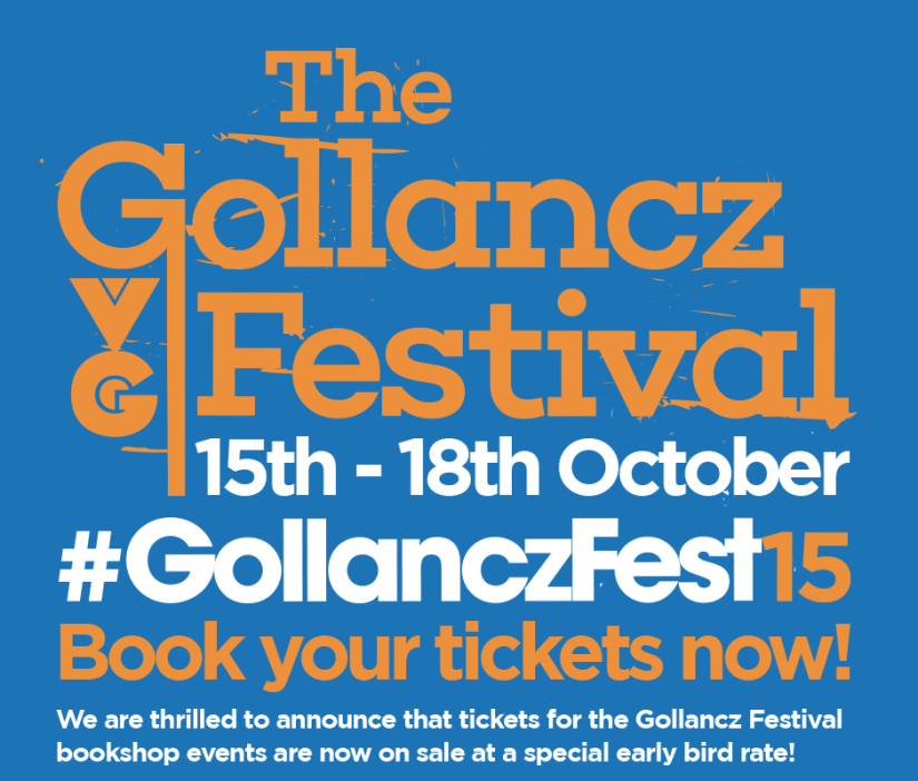 The GollanczFest is a go-go!