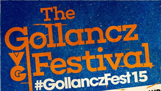 GollanczFest 2015 – behold the awesome line-up (and, er, me!)…