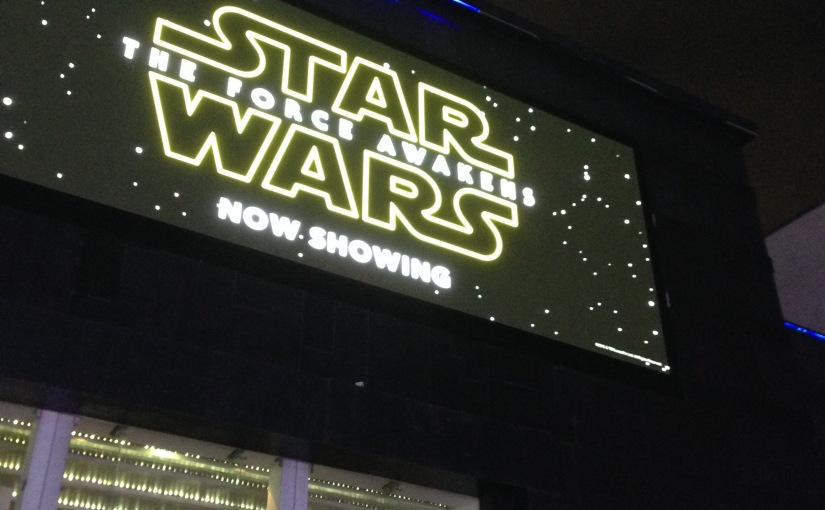 Because what the world really needs is another blog on Star Wars… My thoughts on The Force Awakens (MASSIVE SPOILERS!)