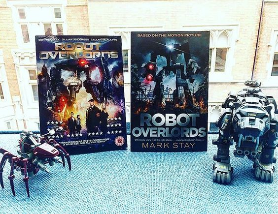 Robot Overlords DVD and book giveaway on Instagram…