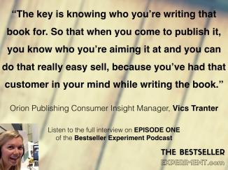 Vics Tranter.THE KEY TO PUBLISHING
