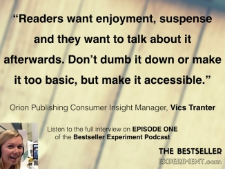 Vics Tranter.WHAT READERS WANT