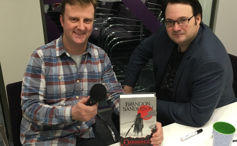 Brandon Sanderson on the podcast thisweek!