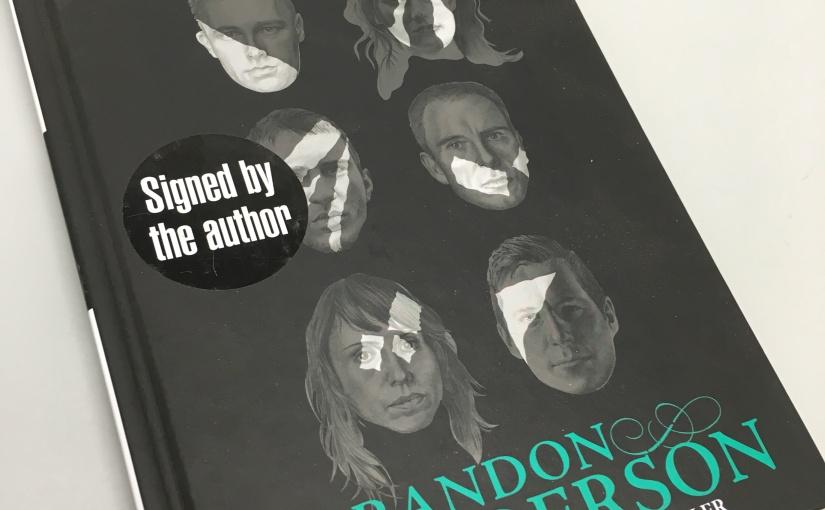 Brandon Sanderson signed Legion bookgiveaway