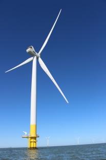 And the Kentish Flats wind farm
