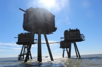 The Red Sands Maunsell Forts