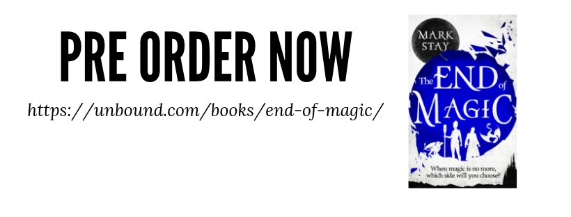 Cover Reveal for The End of Magic