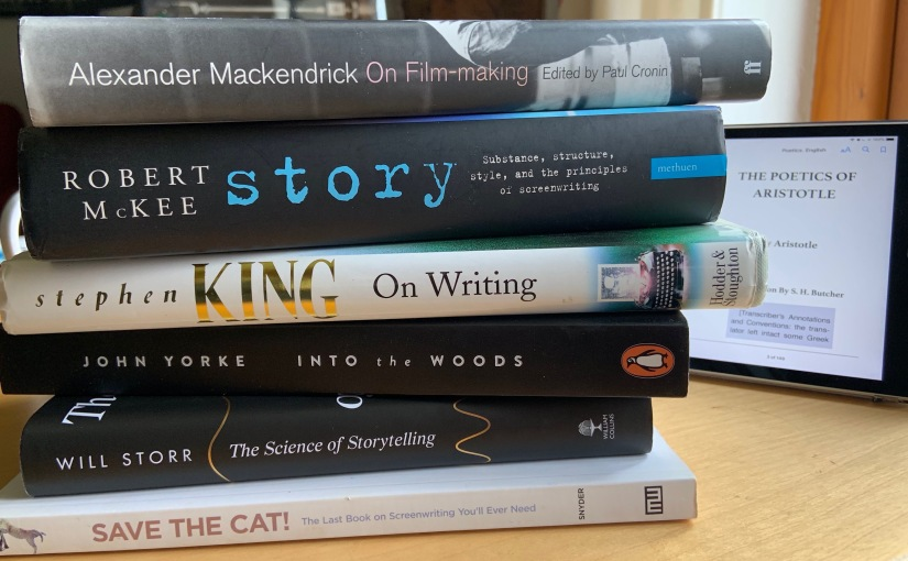 Seven books onwriting