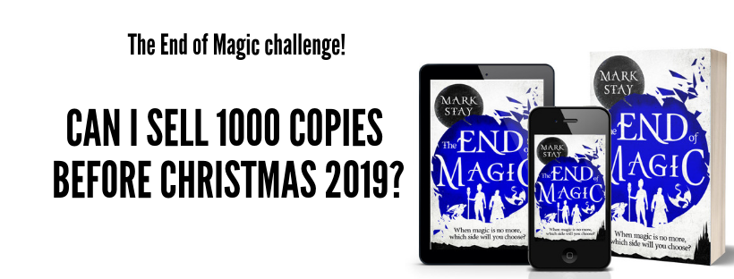 The End of Magic challenge, week 7 – Bloggers and giveaways